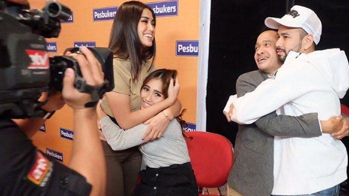 Instagram Ruben Onsu - Unggah Foto Pelukan Jessica Iskandar dan Ayu Ting Ting, Baikan?