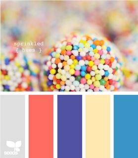 sprinkled: Color Palettes, Design Seeds, Color Inspiration, Sprinkles Hue, Color Schemes, Art Inspiration, Color Sprinkles, Colour Inspiration, Kids Rooms