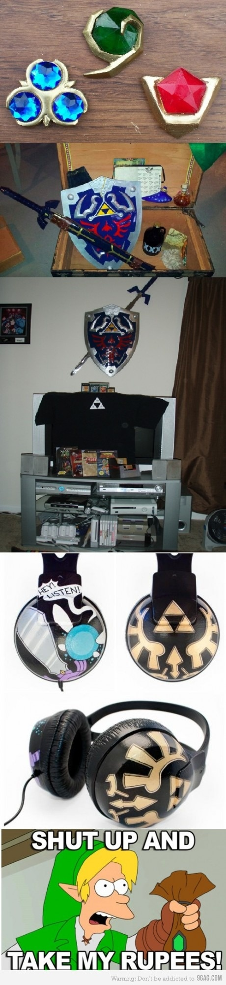 how nerdy would it be of me to have all of these things?