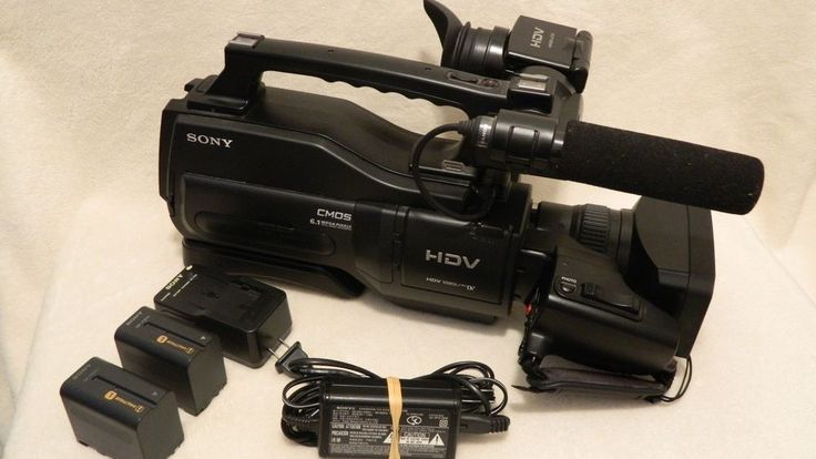 Sony HVR-HD1000U HDV 1080i / Mini DV 6.1 Mega Pixels Camera #Sony