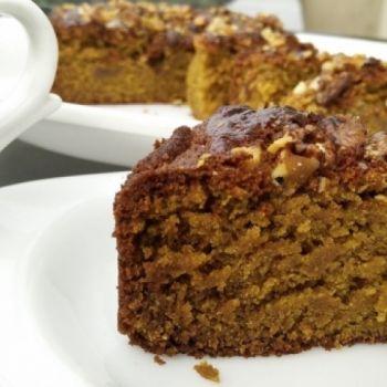 Eggless Whole Wheat Jaggery Cake