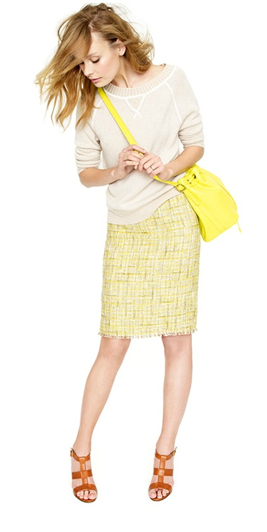 Loving this look, from JCrew.