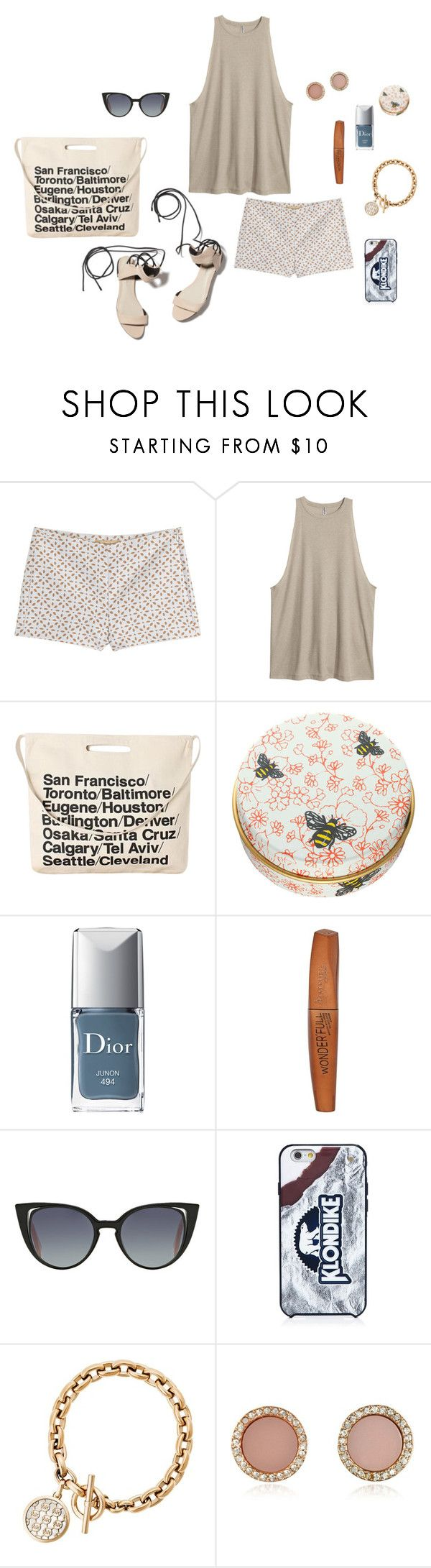 """Toronto"" by picassogirl ❤ liked on Polyvore featuring Michael Kors, 3.1 Phillip Lim, H&M, Chicnova Fashion, Paul & Joe, Christian Dior, Rimmel, Fendi and Kate Spade"