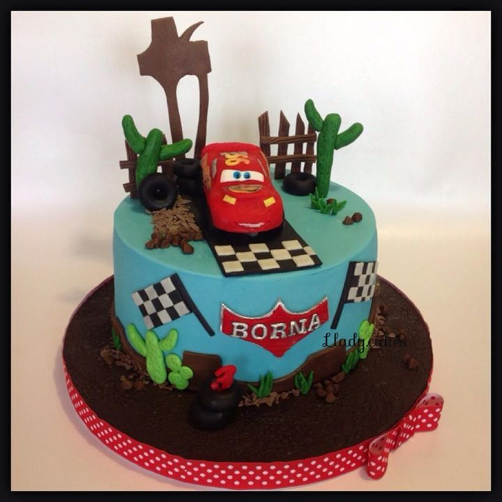 Sugar Design by Llady cakes Speedy mcqueen