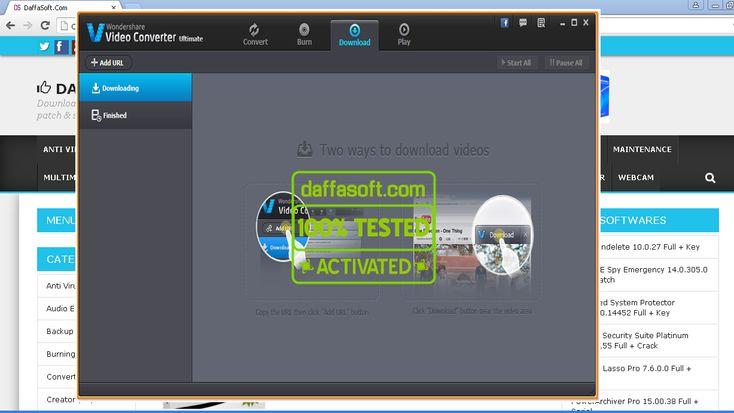 Winavi video converter 8.0 with