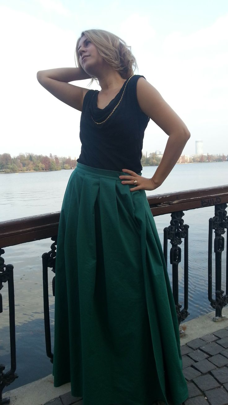 Green Clam Skirt