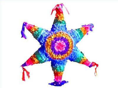 It's Cinco de mayo time!  Going to make this piñata for the party!