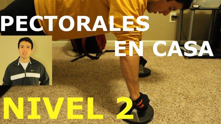 Entrenamiento Para Pectorales En Casa - NIVEL 2 - http://dietasparabajardepesos.com/blog/entrenamiento-para-pectorales-en-casa-nivel-2/