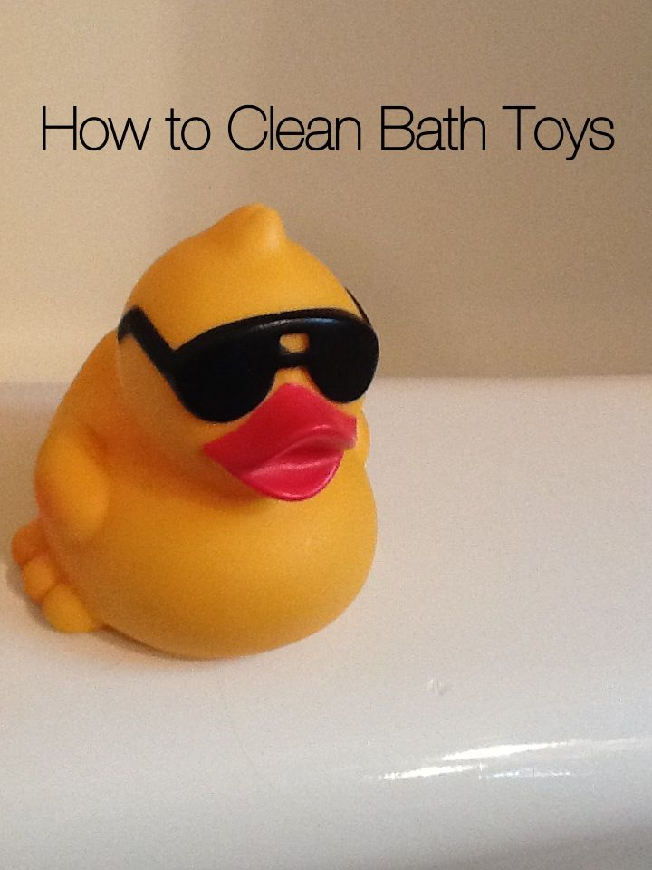 If your kids are like mine, the first thing they in the bathtub is grab their toys and put them directly in their mouths. 4 tips to clean and prevent mold in bath toys.