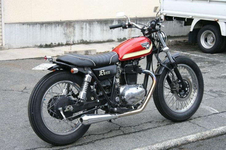 Kawasaki TR250 Brat Style by Jet Motorcycles