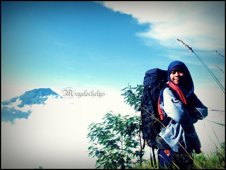 Above the sky. Mt Sindoro 3153 mAsl. Jawa Tengah, Indonesia