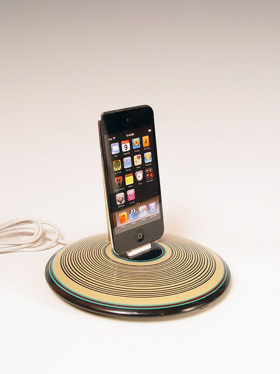 iPhone dock.