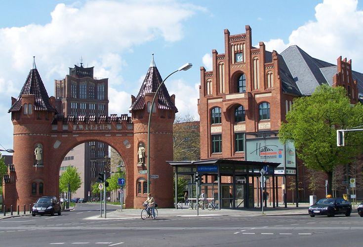 Former Borsigwerke factory precinct and Borsigturm tower: Borsigwerke Metro, U6 Line, 13507 Berlin