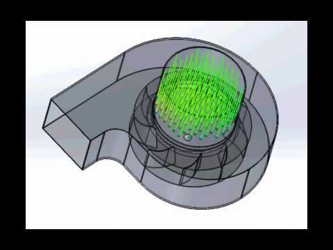 DAEWON IMPELLER Axial fan and Centrifugal FAN CFD Simulation - YouTube
