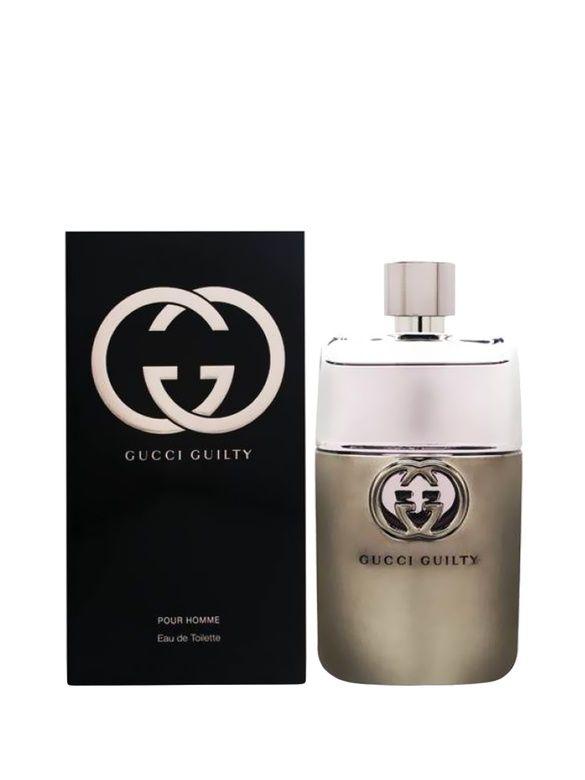 Gucci - Apa de toaleta Guilty Intense, 50 ml, pentru barbati - Incolor