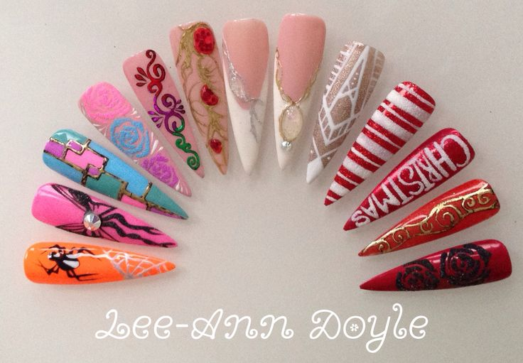 Foils Sands and Stones by Lee-Ann Doyle, Hampshire Educator for The Nail Team