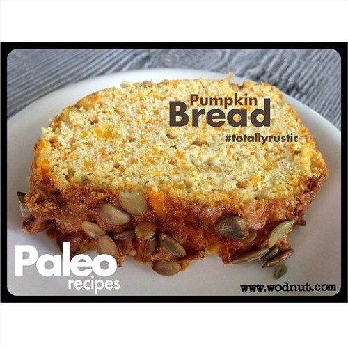 Paleo Pumpkin Bread using the Thermomix. Due to popular demand I've ...