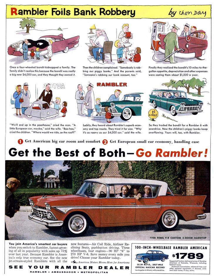 1691 best Classic car ads 50\'s 60\'s 70\'s images on Pinterest ...