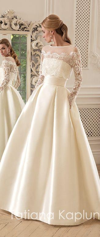 Tatiana Kaplun Bridal  #Gelin #Gelinlik #GelinlikModelleri #GelinBaşı #TesettürGelinlik #Abiye #TesettürAbiye #Nişanlık #Duvak #ElÇiçeği #GelinAyakkabısı #Wedding #WeddingIdeas #WeddingPlanner #WeddingDecorations #Bride #WeddingRegistry #Photojournalism http://gelinshop.com/ppost/269723465161680965/