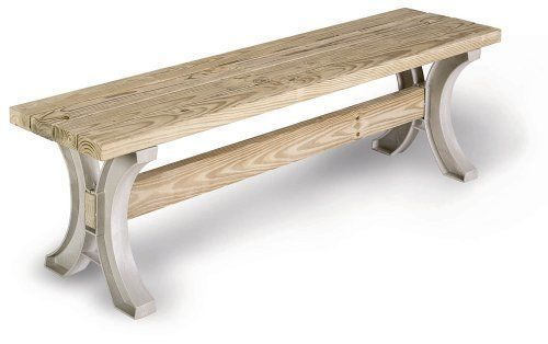Outdoor Patio Table Hopkins AnySize Furniture Low Bench Garden Sand Color New
