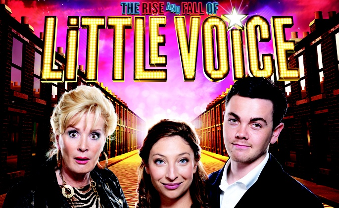 The Rise and Fall of Little Voice U.K Tour,starring Ray Quinn as Billy,Beverley Callard as Mari Hoff and Jess Robinson as Little Voice