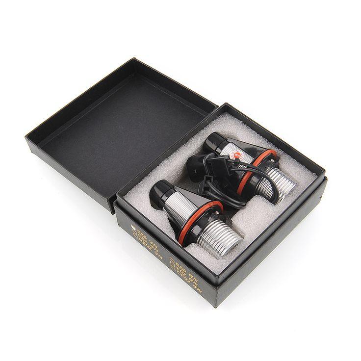 2X Angel Eyes LED 7000 K Ajuste Para BMW E39 E60 E61 E63 E64 E65 E66 Halo de Luz de Lámpara