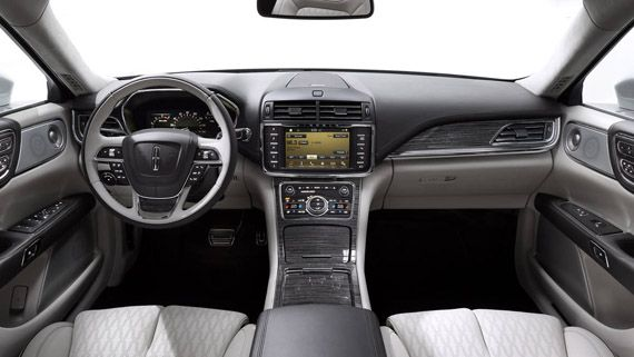 Интерьер концепта седана Lincoln Continental / Линкольн Континенталь