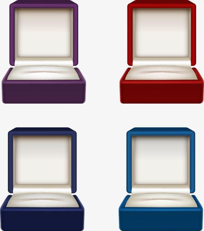 Vector Jewelry Box, Jewelry Boxes, Jewelry Box, Cartoon ...