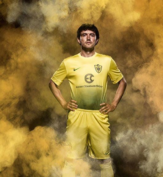 Nike FC Anzhi Makhachkala Home Jersey 2013-2014