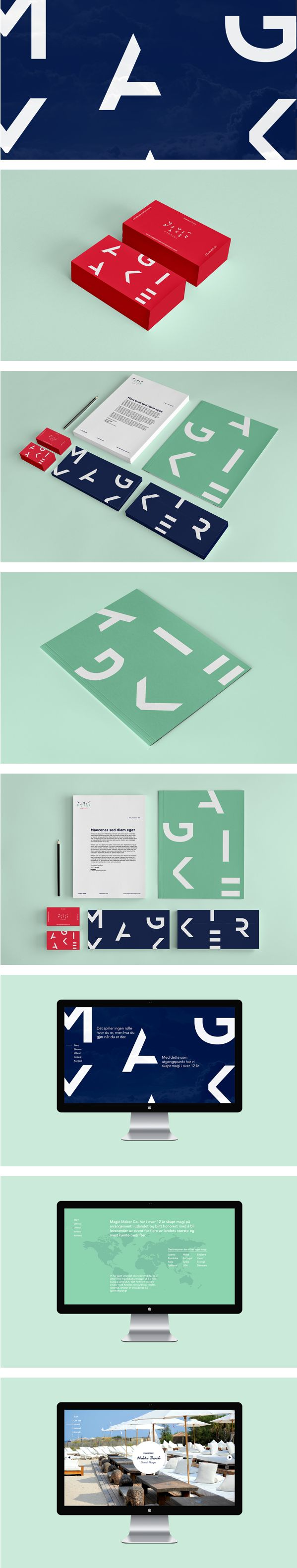 Magic Maker Co. by Knowhow | #stationary #corporate #design #corporatedesign #identity #branding #marketing < repinned by www.BlickeDeeler.de | Take a look at www.LogoGestaltung-Hamburg.de