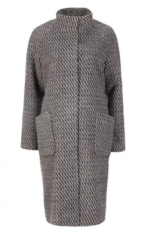 Пальто шерстяное (артикул:110924000) La reine blanche