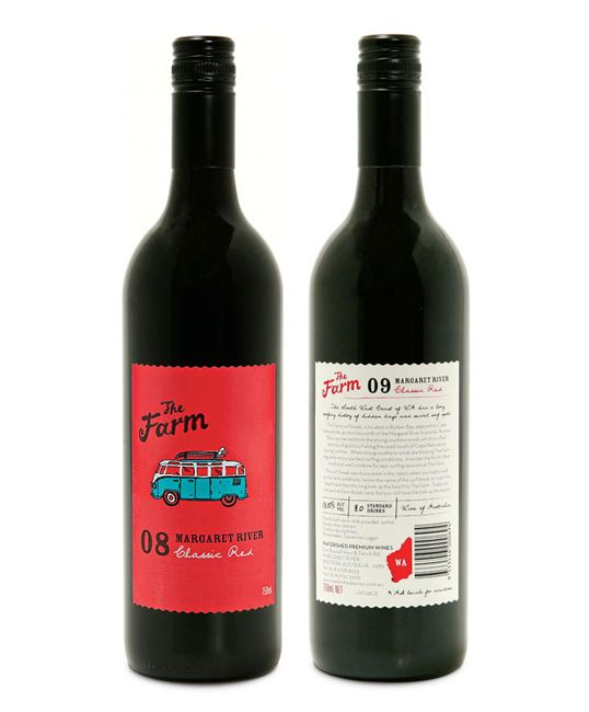 The Farm by brianCELLS: Wine, Farm Wine, Packaging, Wine Labels, Farms, The Farm, Bottle, Design