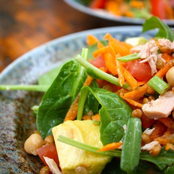 A Salad for Everyone (Pescaterian, Gluten/Dairy Free)