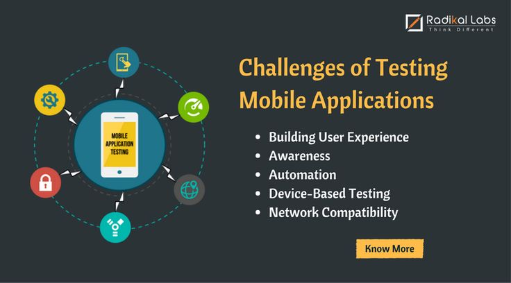 Challenges of Testing Mobile Applications