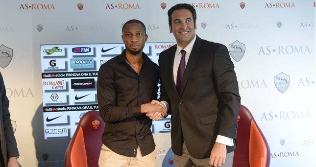 05.06.2014 L'AS Roma S.p.A. rende noto di aver sottoscritto un contratto di prestazione sportiva con il calciatore maliano Seydou Ahmed Keita. Il contratto ha durata annuale, con scadenza al 30 giugno 2015.