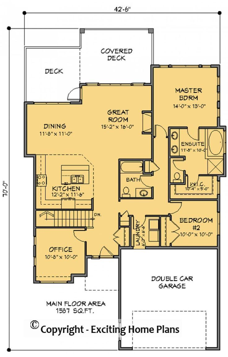 House Plan Information For Mallano 8 Bungalow House Plans House Plans Online House Plans
