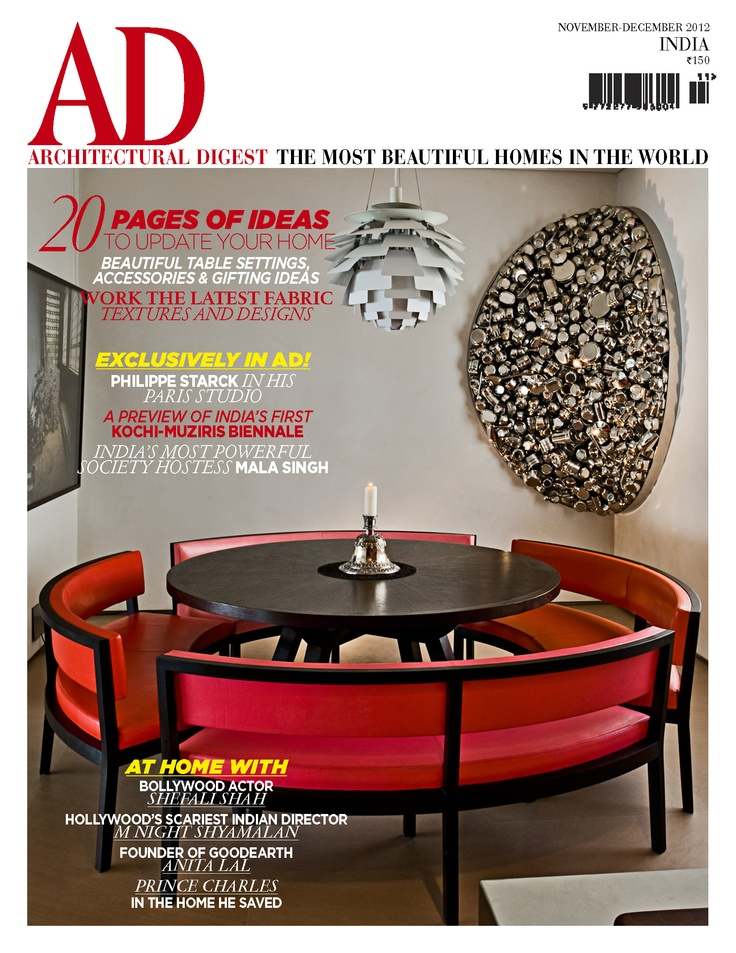 Get Your Digital Copy Of AD Architectural Digest India Magazine   Nov   Dec  2012 Issue On Magzter And Enjoy Reading It On IPad, IPhone, Android Devices  And ...