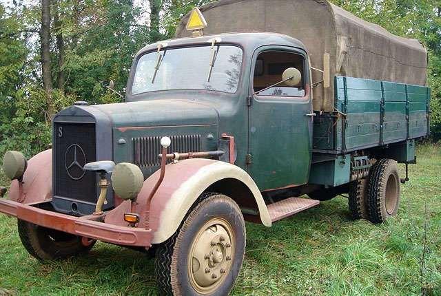 Mercedes benz l 3000 s baujahr 1942 military vehicles for Mercedes benz under 3000