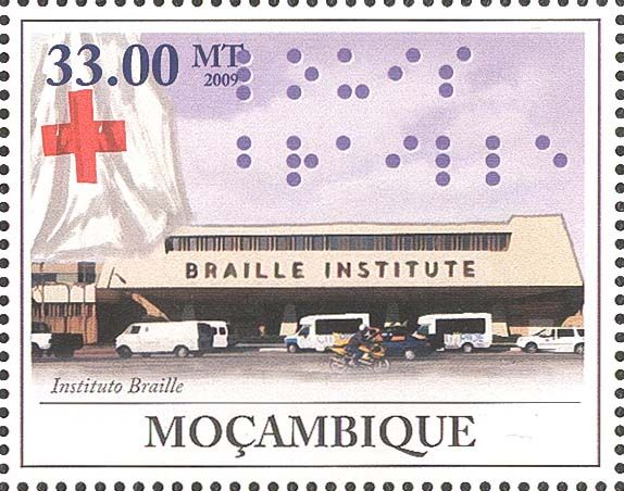 2009 Mozambique Bicentenary of Louis Braille
