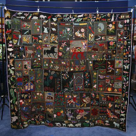 106 best Vintage crazy quilts and techniques images on Pinterest ... : antique crazy quilt - Adamdwight.com