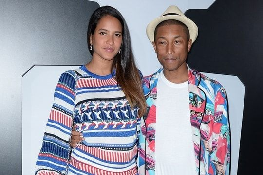 Le chanteur Pharrell Williams est papa