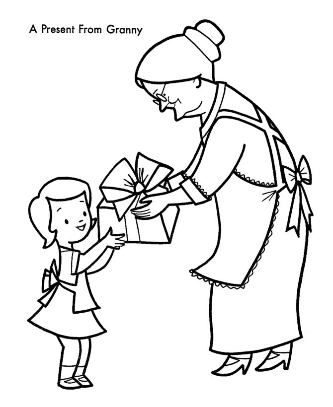 18 best Coloring Pages {Summer} images on Pinterest Summer - new christmas coloring pages for grandparents