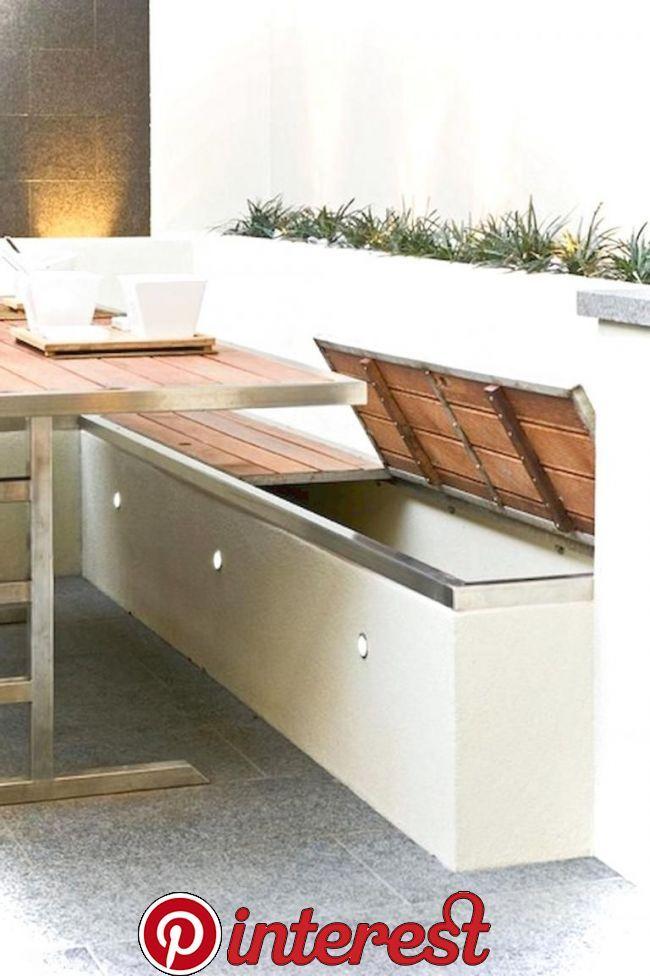 40 Best Outdoor Garden Furniture Ideas In 2020 Storage Bench Seating Garden Seating Outdoor Seating Area Diy