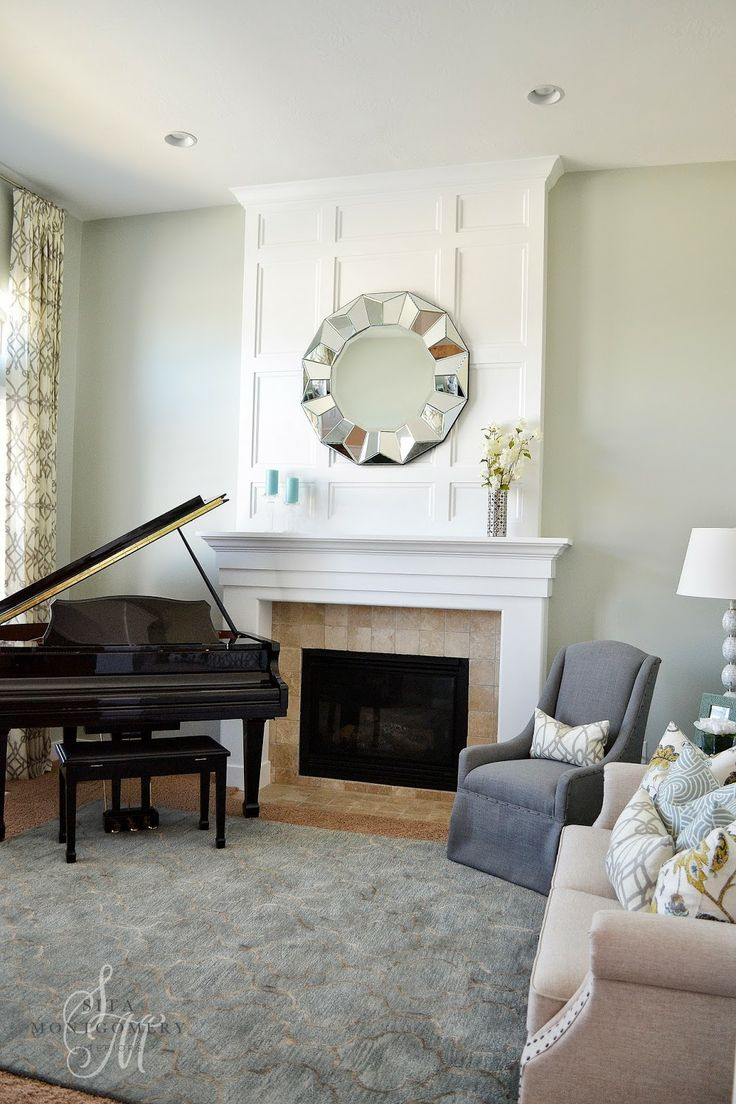 Sita Montgomery Interiors Stunning Living Room Makeover Featuring Our Portico Mirror