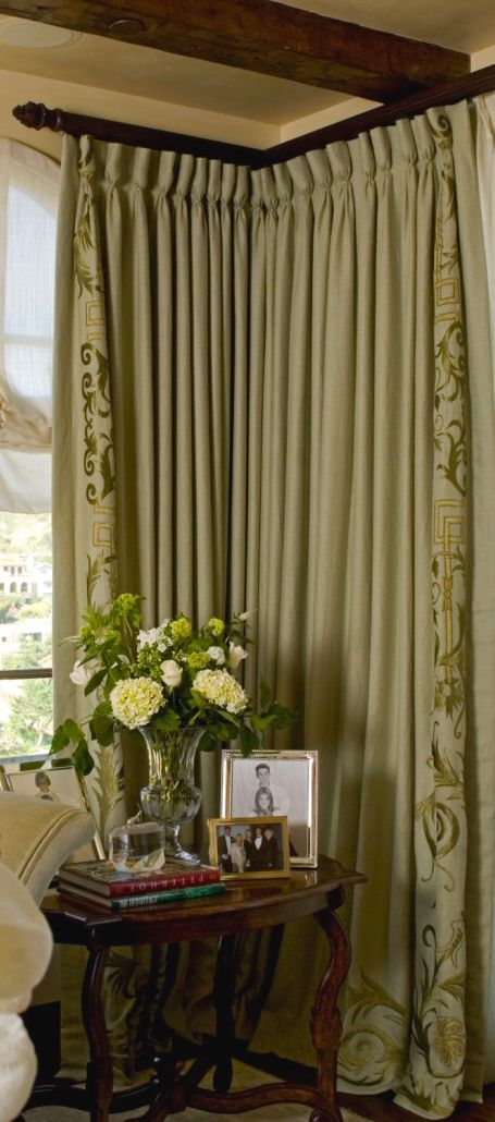 Best 25+ Corner window treatments ideas on Pinterest