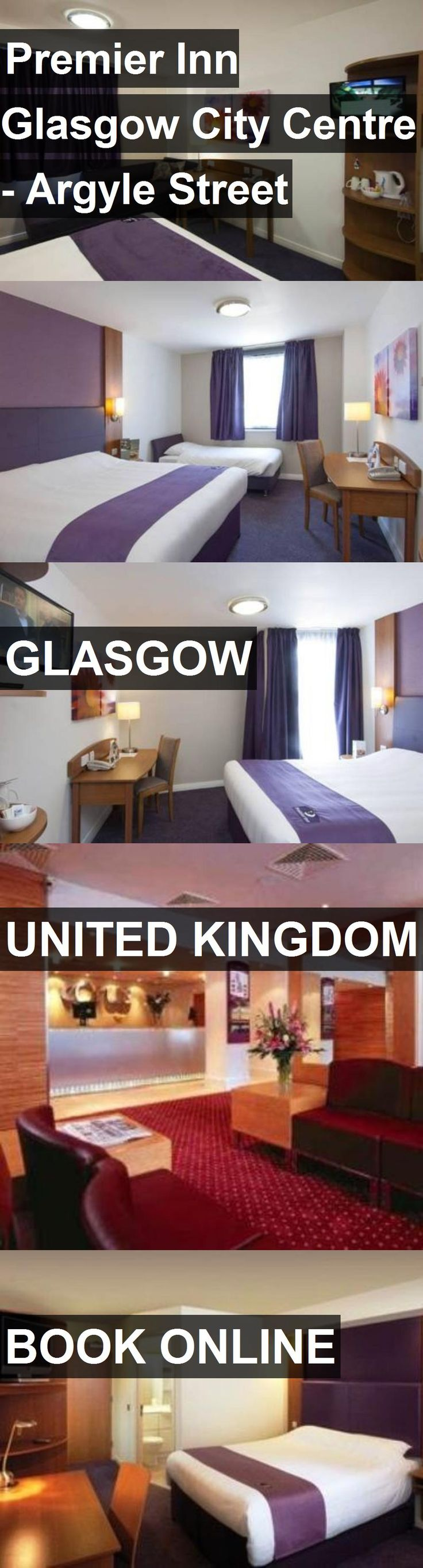 Hotel Premier Inn Glasgow City Centre - Argyle Street in Glasgow, United Kingdom. For more information, photos, reviews and best prices please follow the link. #UnitedKingdom #Glasgow #travel #vacation #hotel