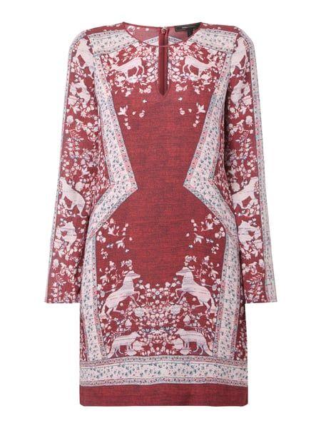 BCBG-MAX-AZRIA Cocktailkleid mit floralem Muster in Rot online kaufen (9560723) ▷ P&C Online Shop Österreich