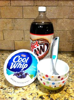Healthy Dessert and zero weight watchers points! Rootbeer float.. or any kind of float for that matter, depending on the pop you use!