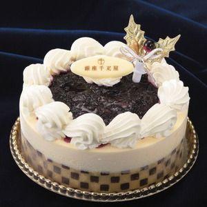 銀座千疋屋 ホワイトクリスマス アイスケーキ 美味しそうなスイーツ・ケーキ写真日記