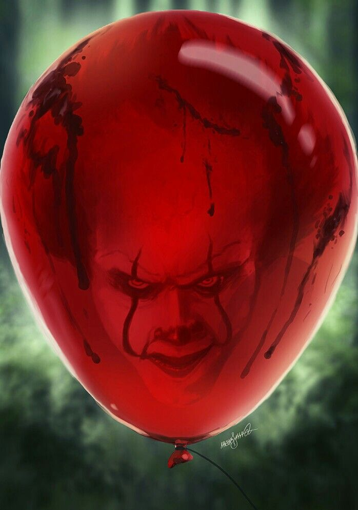 PENNYWISE BALLOON! | IT | Horror movies, Horror, Bill ...
